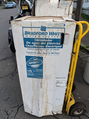 Bradford electric water heater 40 gal for Sale in Portland, OR