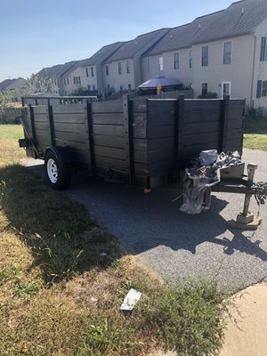 Trailer 13 foot with 9,000 lb Badland Winch for Sale in Lancaster, PA