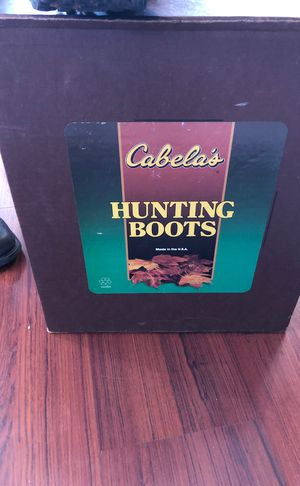 Cabelas hunting boots for Sale for sale  Queens, NY