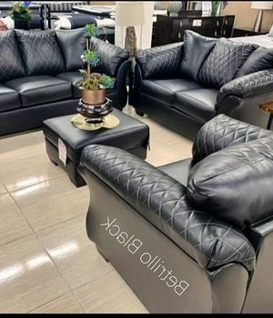 🃏🃏Same day delivery 🎉🎉Betrillo Black Living Room Set 🎉🎉by Ashley 🃏🃏 for Sale in Silver Spring, MD