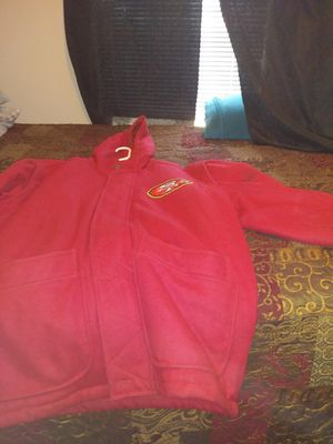 Two san Francisco jackets size xl 80 for both or $50a piece for Sale in McIntosh, NM