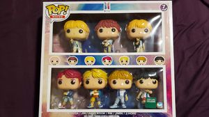 BTS Funko Pop 7 pack B&N Exclusive for Sale in Potomac, MD
