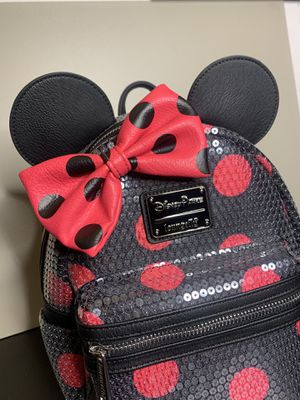 Minnie Mouse Loungefly Mini Backpack Disney Park for Sale in Glendale, CA