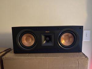 Klipsch R-25C center speaker for Sale in Waldorf, MD