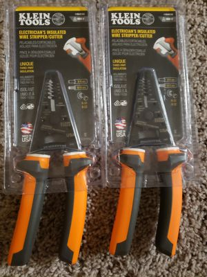 Klein Tools Electrician's Insulated Wire Stripper/ Cutter $40 EACH!! for Sale in Fullerton, CA