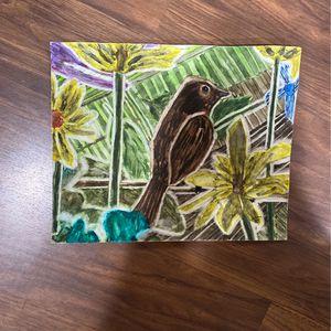 (Watercolor) Crops bird 8x10 for Sale in Hayward, CA