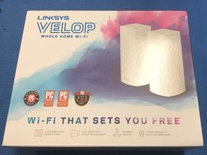 Linksys Velop tri-band whole Homs WiFi for Sale in Glendale Heights, IL