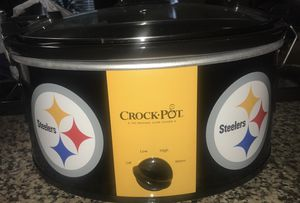 Pittsburgh Steelers Crock Pot - Price Negotiable for Sale in Round Rock, TX