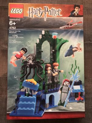 LEGO Harry Potter Rescue from the merpeople for Sale in Mesquite, TX
