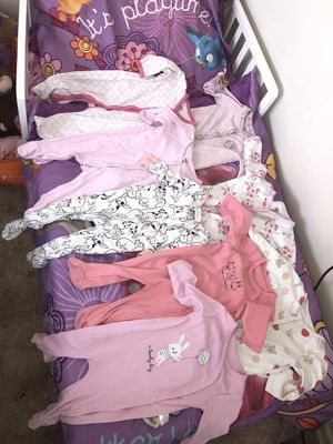 8 Long sleeve onesies for Sale in Washington, DC