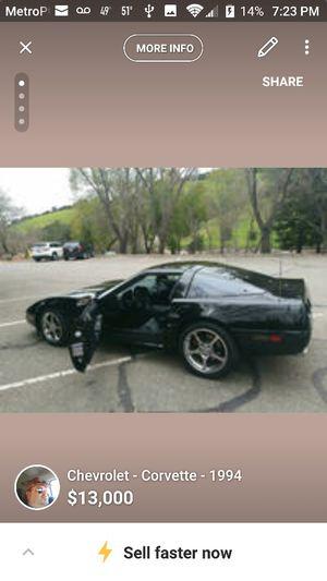 1995 Chevy Corvette for Sale in Castro Valley, CA