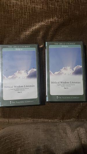 Biblical Wisdom Literature. Part 2,Part 3 for Sale in Los Angeles, CA