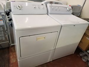 Kenmore top load Washer and dryer set working perfectly four months warranty for Sale in Baltimore, MD
