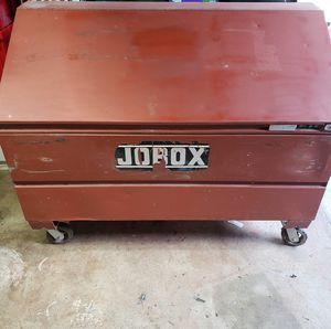 Jobox caja tool box work box 60x36 for Sale in Downey, CA