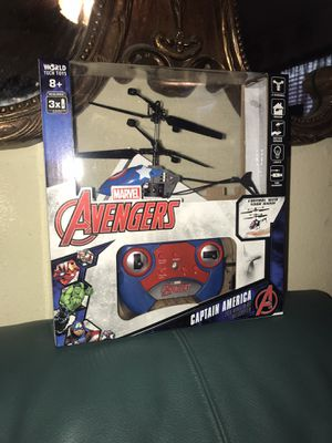 Brand new avengers captain america helicopter for Sale in Sacramento, CA