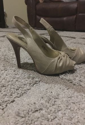 Audrey Brooke open toe heels for Sale in Rowlett, TX