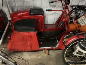 """ WANTED"" Cushman Scooters Dead or a Live, parr's and Motor's please text pictures an a description of what you have to sell. Thanks Damon. 614-206 for Sale in Carroll, OH"