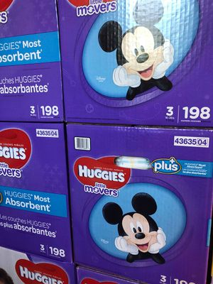 Huggies little movers size 3 for Sale in Downey, CA