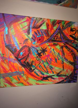 Abstract painting art for Sale in Orange, CA