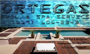 Ortegas Pool & Spa Service for Sale in San Diego, CA