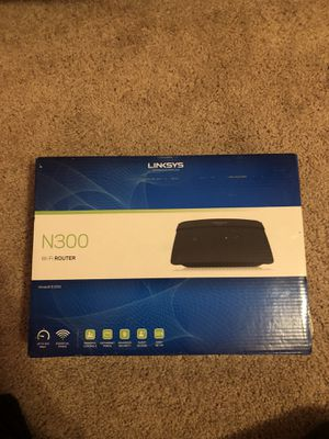 LINKSYS Model #E1200 N300 Wireless Wi-Fi Router Brand New for Sale in Greensboro, NC