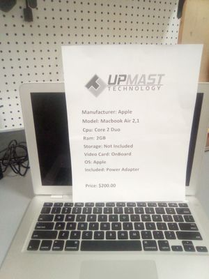 MacBook pro 2,1 needs hard drive for Sale in Latrobe, PA