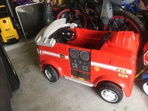 Battery operated fire truck for Sale in Spring, TX