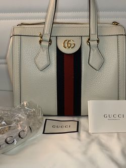 ✨💙NWT GUCCI💙✨ SMALL OPHIDIA TOTE WHITE for Sale in North Huntingdon,  PA