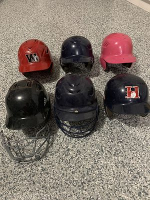 Baseball and Softball helmets for Sale in Bolingbrook, IL