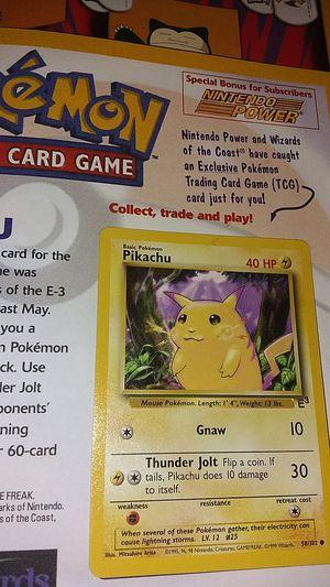 Pokemon trading card for Sale in Oxnard, CA