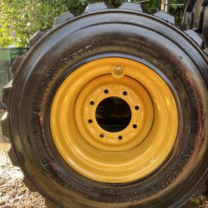 4 New Caterpillar Cat 12-16.5 Skid Steer Tires Take Off for Sale in Santa Monica, CA
