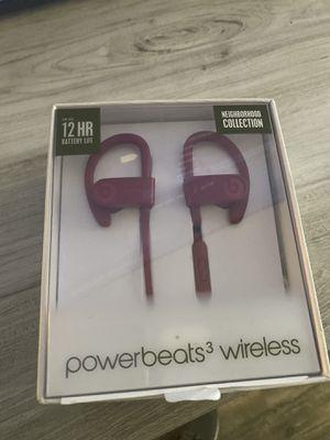 Power Beats 3 Wireless for Sale in Los Angeles, CA