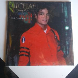 Michael Jackson 2018 Collector calendar Unopened for Sale in Winchester, CA