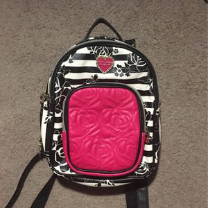 Betsey Johnson Book bag Purse for Sale in Lockbourne, OH