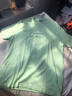 Supreme Box Logo Green Shirt for Sale in New York, NY