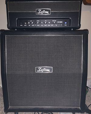 Kustom KG 100HFX & KG 412; HARBINGER HA 120GUTAR AMP/CABINET & PA system for Sale in Smyrna, GA