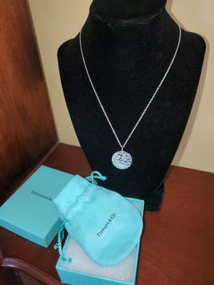 Tiffany and Co New York pendant for Sale in Lancaster, NY