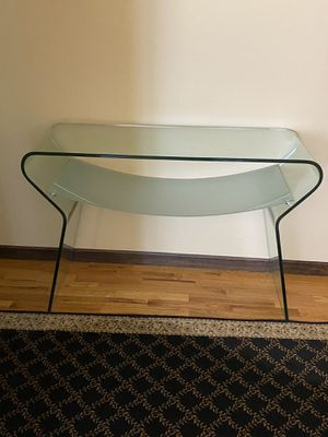 Glass side table for Sale in Staten Island, NY