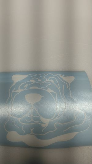 Shar-pei dog decal for auto, windows and more for Sale in Warwick, RI
