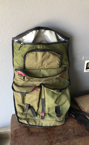 Chrome backpack - waterproof- (used) for Sale in Nuevo, CA