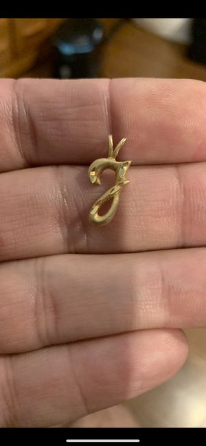 14k solid gold charm pendant for Sale in Chicago, IL