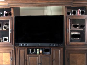 Wood Entertainment Center for Sale in Tolleson,  AZ