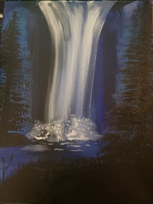 Waterfall painting for Sale in Minot, ND