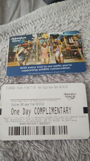 Adventure Island for Sale in Tampa, FL