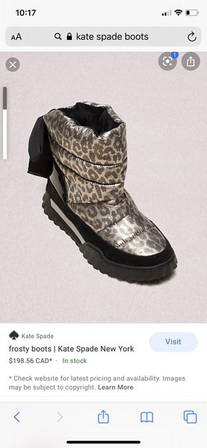 Kate Spade size 7 women's boots for Sale in Lodi, CA