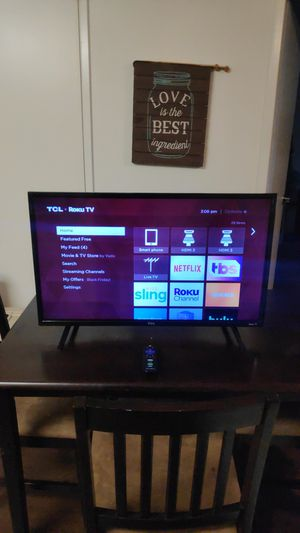 """32"""" tcl roku tv for Sale in Bakersfield, CA"""