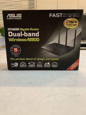 ASUS Dual-band wireless router for Sale in Chicago, IL