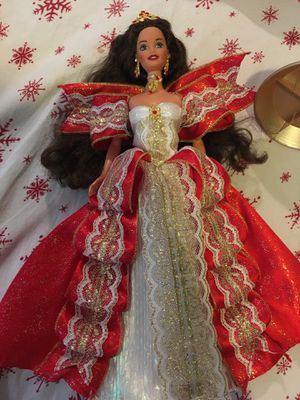 Vintage Spécial Edition Happy Holidays Barbie from the 80s for Sale in Minneapolis, MN