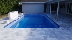 Do you need help retiling your pool or changing the coping maybe even doing the diamond Brite over then I can help for Sale in Pompano Beach, FL