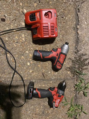 Milwaukee drill set for Sale in Virginia Beach, VA
